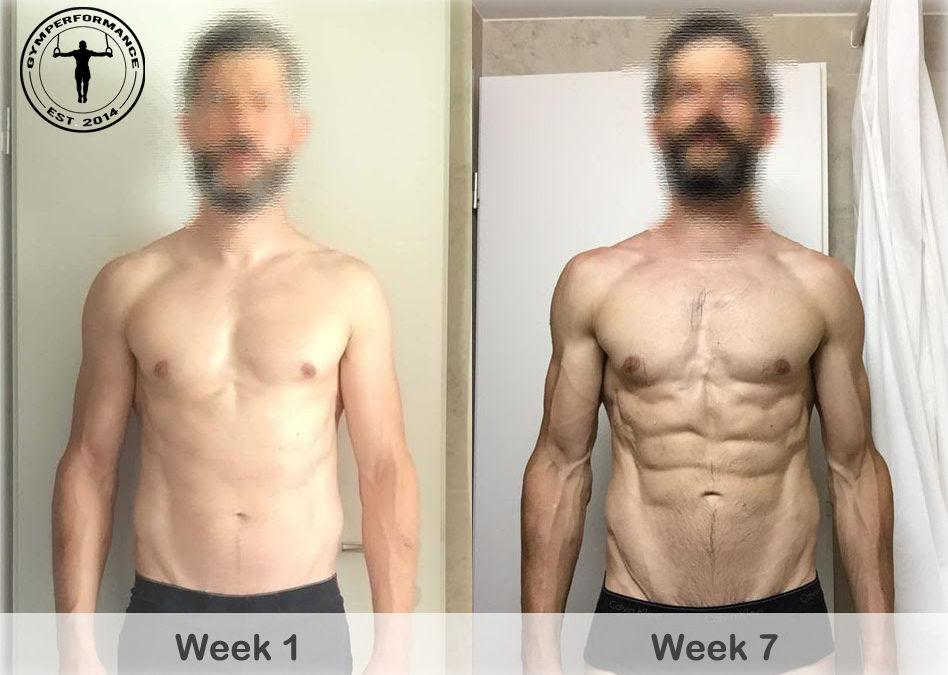 Fat Loss: How Jay lost 2.6 kg body fat in 7 weeks
