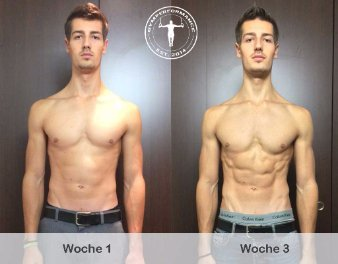 Definition - 3 Wochen Transformation - Anthony