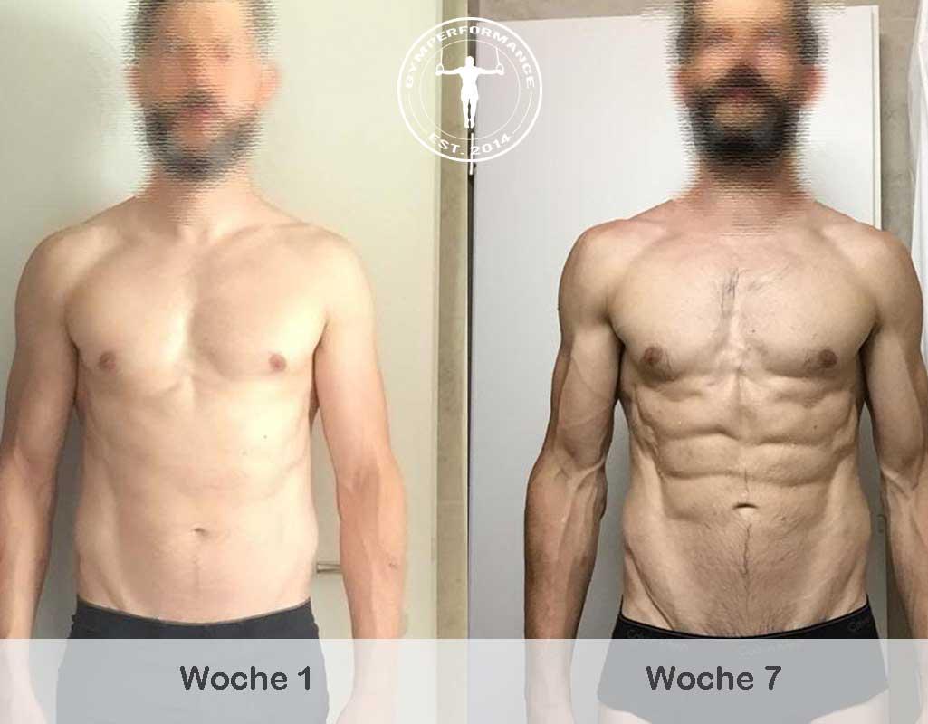 Fettabbau - Unglaubliche 7-Wochen Transformation - Jay