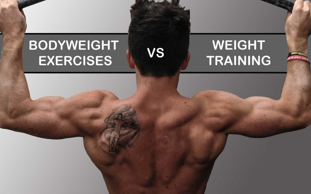 Strength Training: Bodyweight Exercises versus Weight Training