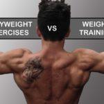 Strength Training: Bodyweight Exercises versus Weight Training