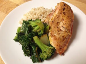 Chicken, Rice and Broccoli