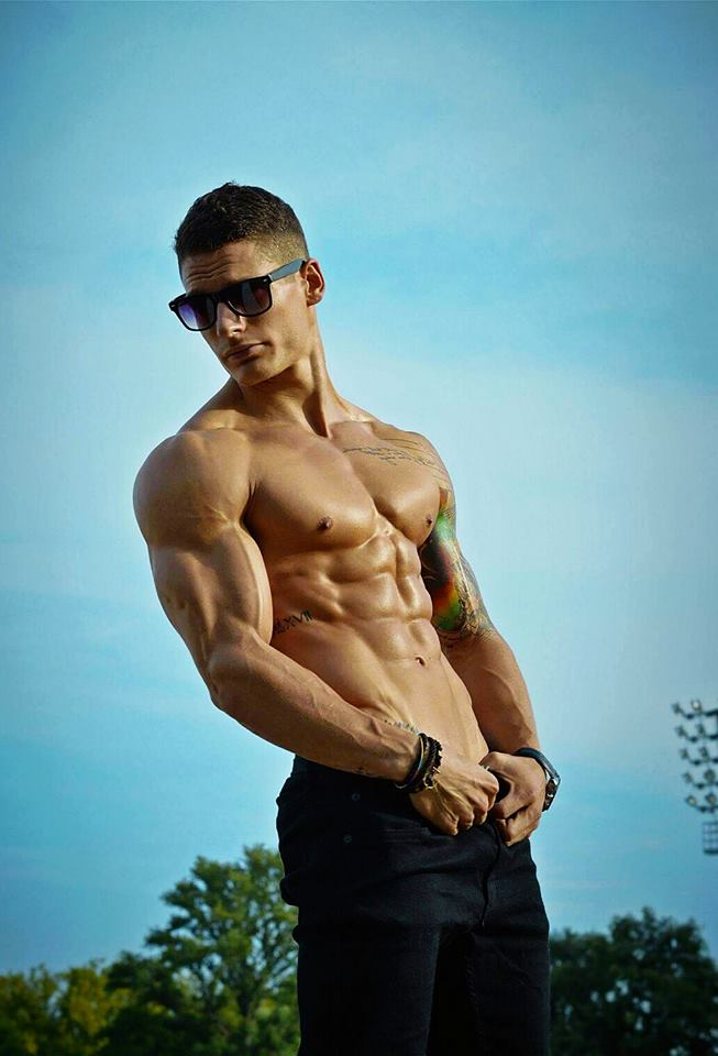 Adam Schneider Gymnast and Bodybuilder2