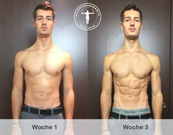 Definition - 3 Wochen Transformation - Anthony