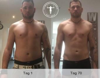 Fettabbau - Körperveränderung - Tino