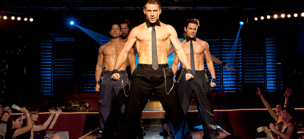 "Channing Tatum and Joe Manganiello in ""Magic Mike XXL"""