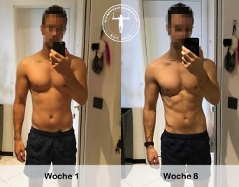 Transformation - 8 Wochen Fettabbau