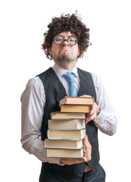 Lange war ich der Meinung nur Nerds lesen Bücher.
