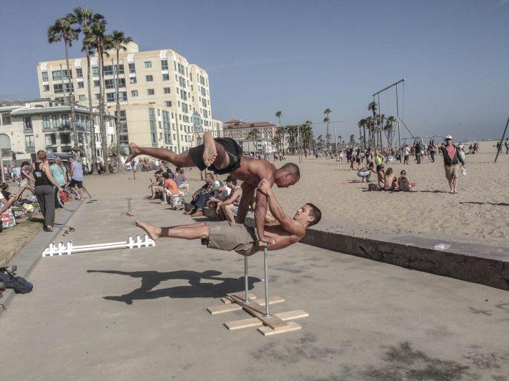 Calisthenics, Street Workout, Akro Yoga - die Kreativität der Athleten kennt keine Grenzen