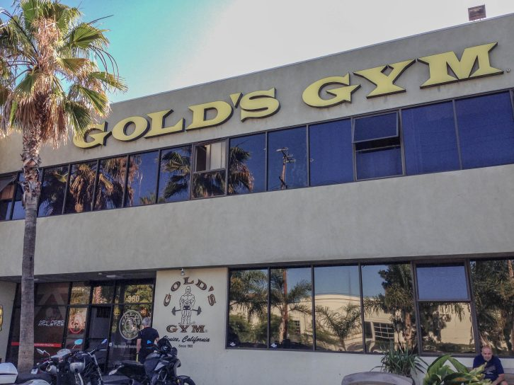 Gold's Gym in Venice Beach
