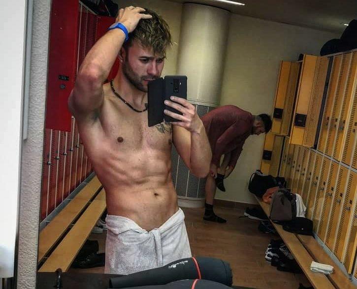 Muskelaufbau und gleichzeitiger Fettabbau - Gym Performance Kunde Denis Kläfiger