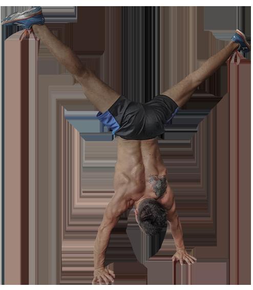Gym Performance Fitnessprogramm - Handstand
