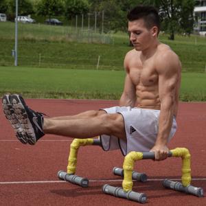 Martin Blättler works out.