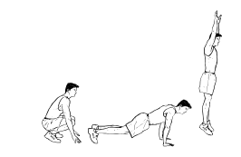 High Intensity Interval Training - Burpees