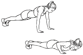 High Intensity Interval Training - Push Ups