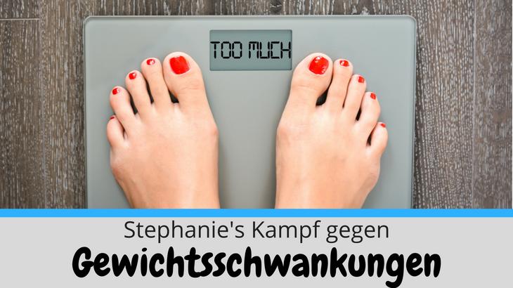 Fit und schlank wie nie zuvor: Stephanie's Kampf gegen Gewichtsschwankungen