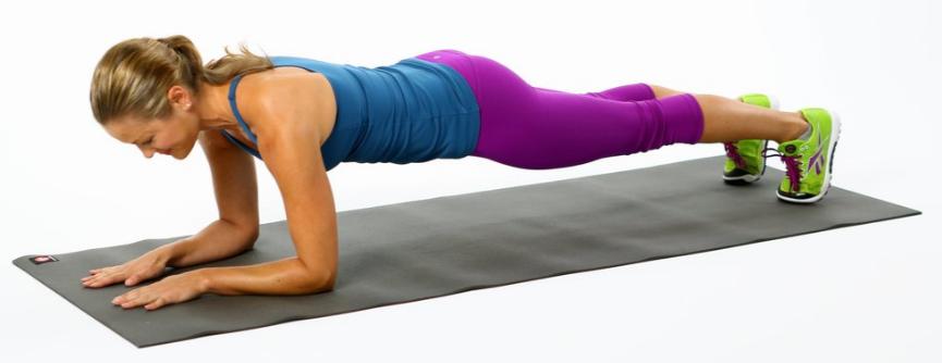 Übung für bessere Körperhaltung - Plank