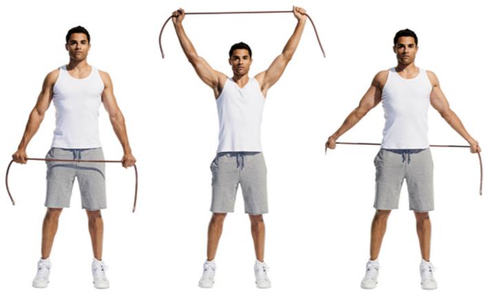 Übung für bessere Körperhaltung - Shoulder Dislocations