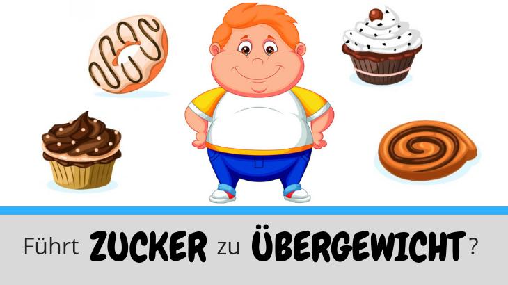 Führt Zucker zu Übergewicht?