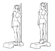 Fit ohne Geräte - Beine - Calf Raises