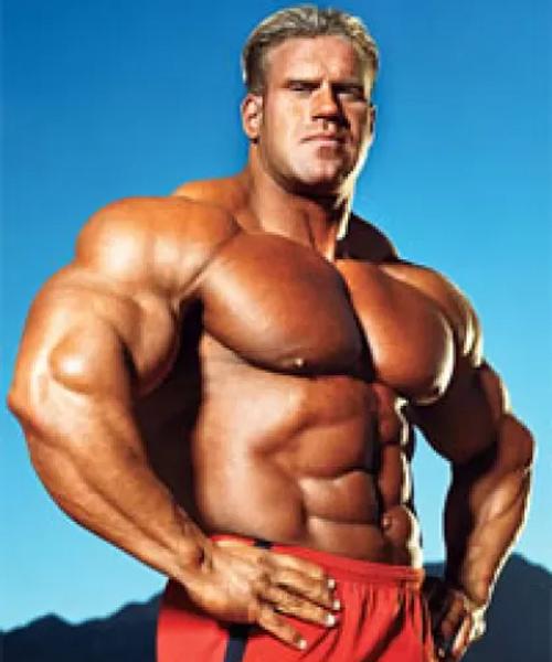 Bodybuilder Jay Cutler
