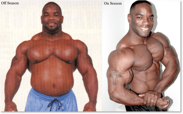 Bodybuilder Johnnie Jackson - Off Season vs On Season