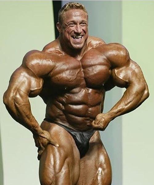 Bodybuilder Markus Rühl