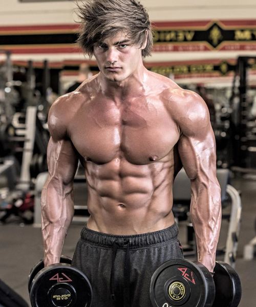 Bodybuilder Jeff Seid