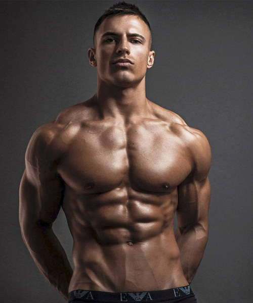 Fitness Model Mike Thurston