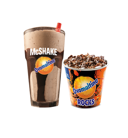 McFlurry AND Milk Shake? Yes Please!