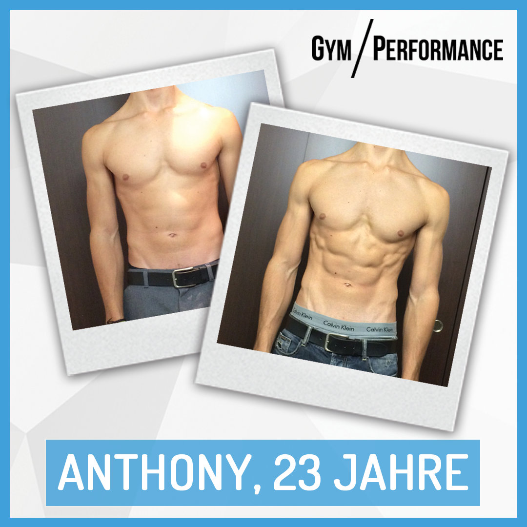 Anthony's Motivation half ihm innert kürzester Zeit zum Beach Body.