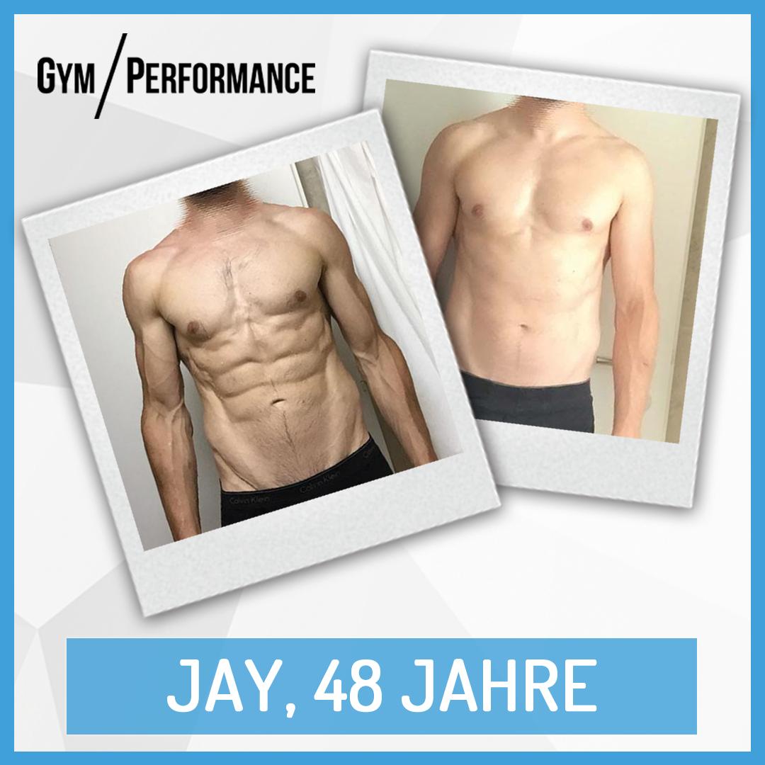 Eine Reduzierung des Körperfettanteils von über 3% (2.6Kg reine Fettmasse) in nur 7 Wochen. In diesem Artikel berichtet Jay, wie seine Disziplin ihm zum Erfolg verhalf.