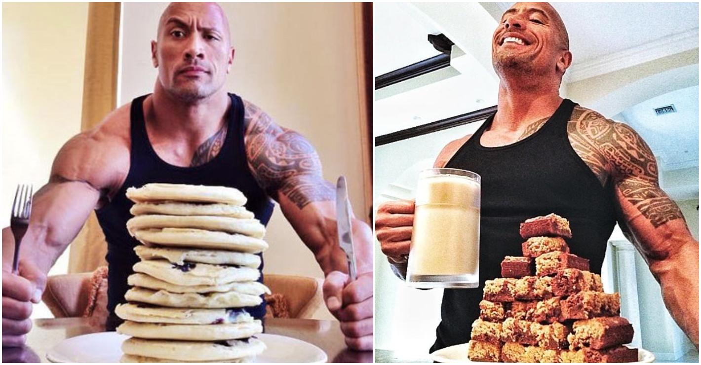 """Cheat Meal von Dwayne """"The Rock"""" Johnson"""