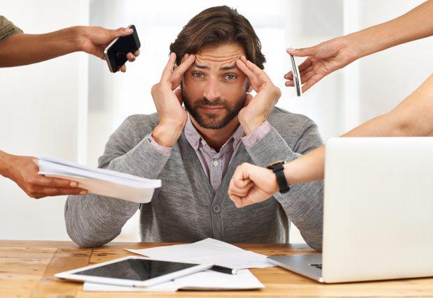 Stress gehört für viele zum Alltag