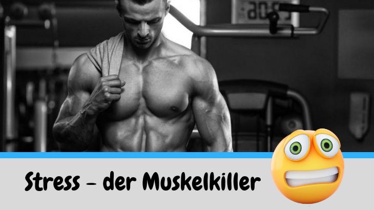 Weniger Stress – Mehr Muskeln!