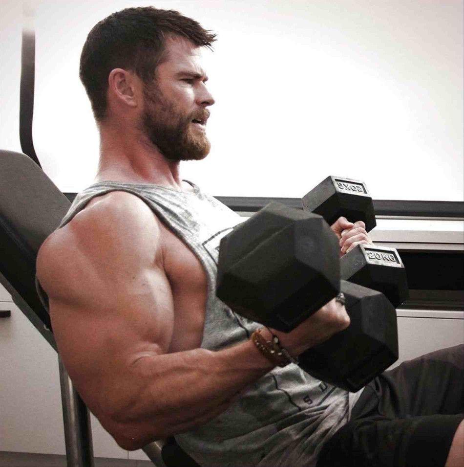 Musckelaufbau und Intermittent Fasting - Chris Hemsworth