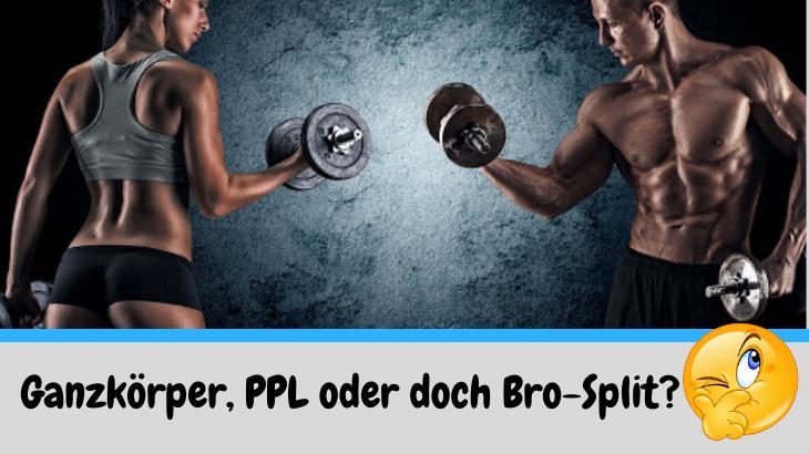 Welches ist der beste Trainingsplan für den Muskelaufbau?